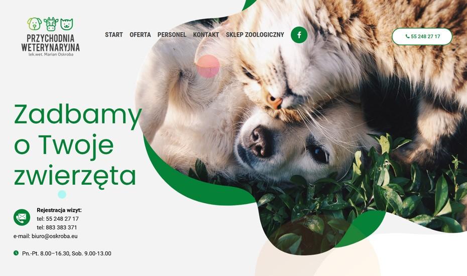 Strona internetowa Przychodnia Oskroba